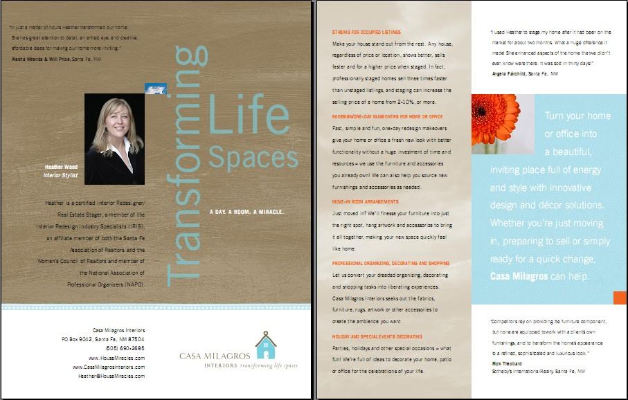 Informational Brochure Example Brochure Design Examples