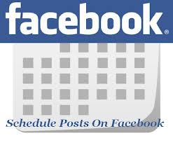 Schedule FB posts